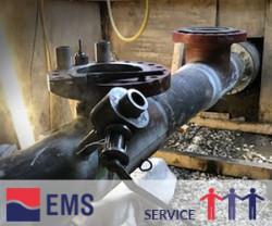 EMS sikrede fjernvarmeforsyningen