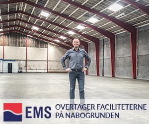 EMS og Global Gravity overtager faciliteterne på nabogrunden