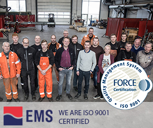 We are happy to announce that we have been 9001 certified