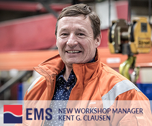 New Workshop Manager – Kent G. Clausen