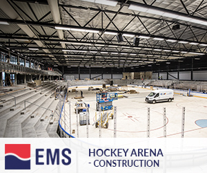 Hockey arena – construction