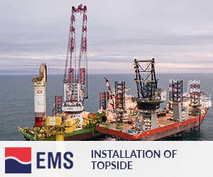 Installation of topside